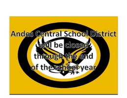 Andes Central School Closed Through the End of the Year