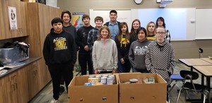 MS/HS Student Council Food Drive