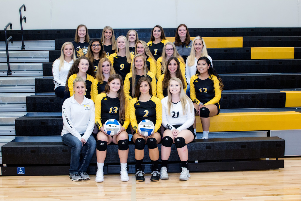AC/DC Varsity Volleyball Team