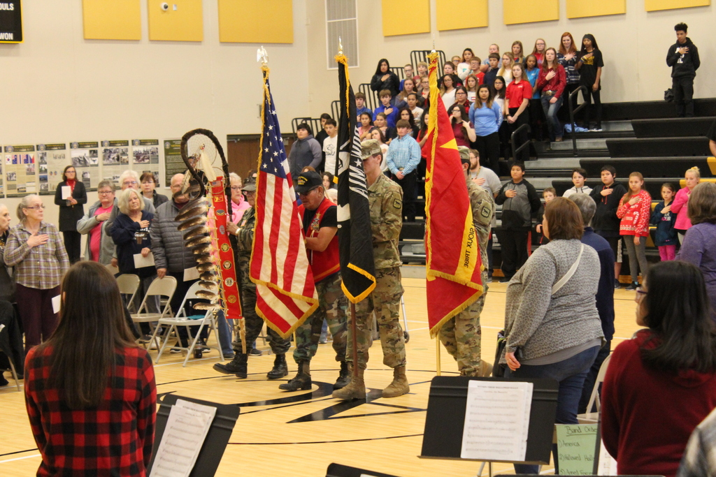 Veteran's Day Program at Andes Central School