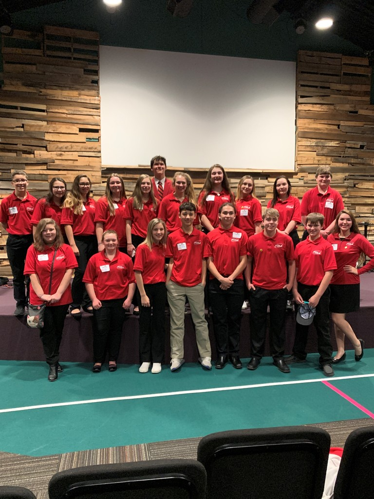 Andes Central FCCLA Region III Participants