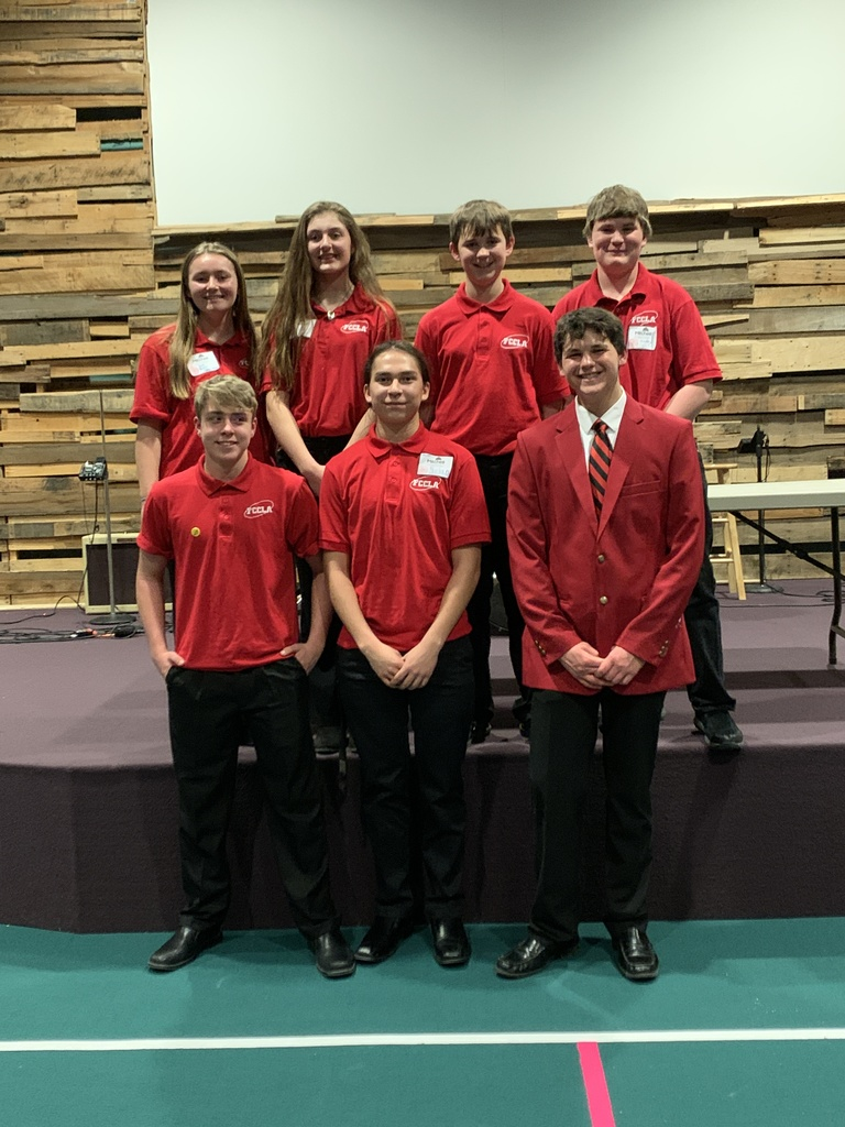 Andes Central FCCLA Students advancing to State
