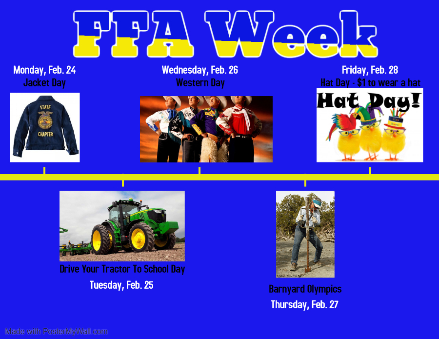 Andes Central FFA Week