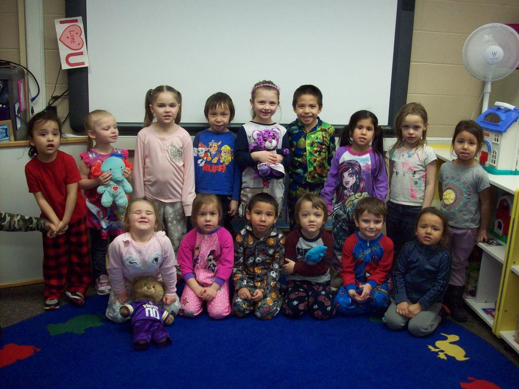 Pajama Day for Preschoolers