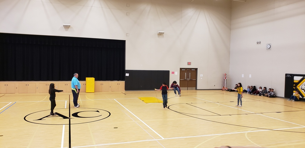 4th Grade Jump Rope Assembly