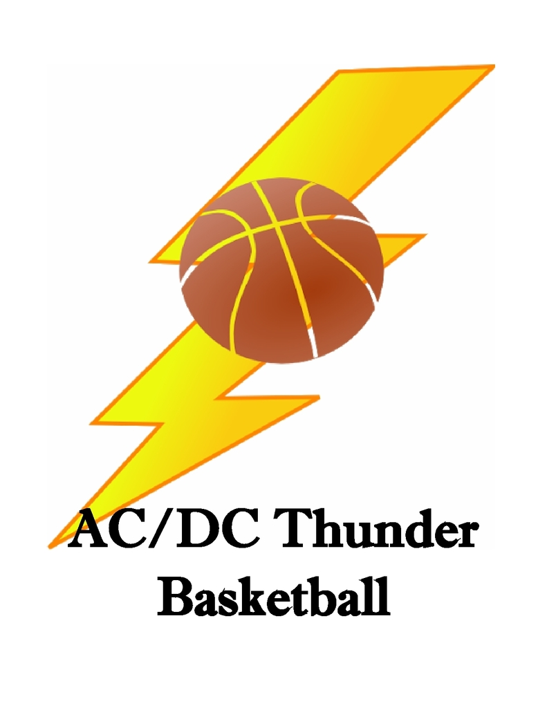AC/DC Thunder Basketball