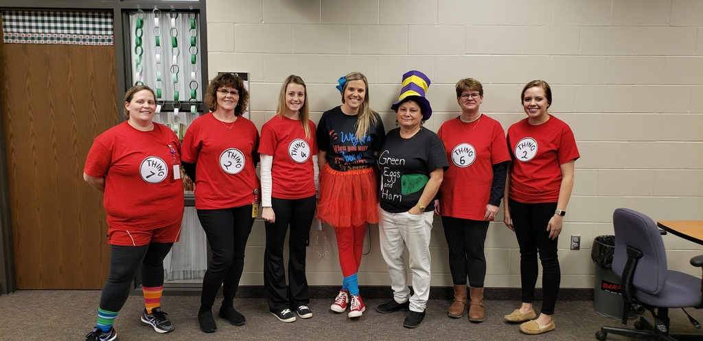 Read Across America/Dr Seuss Day